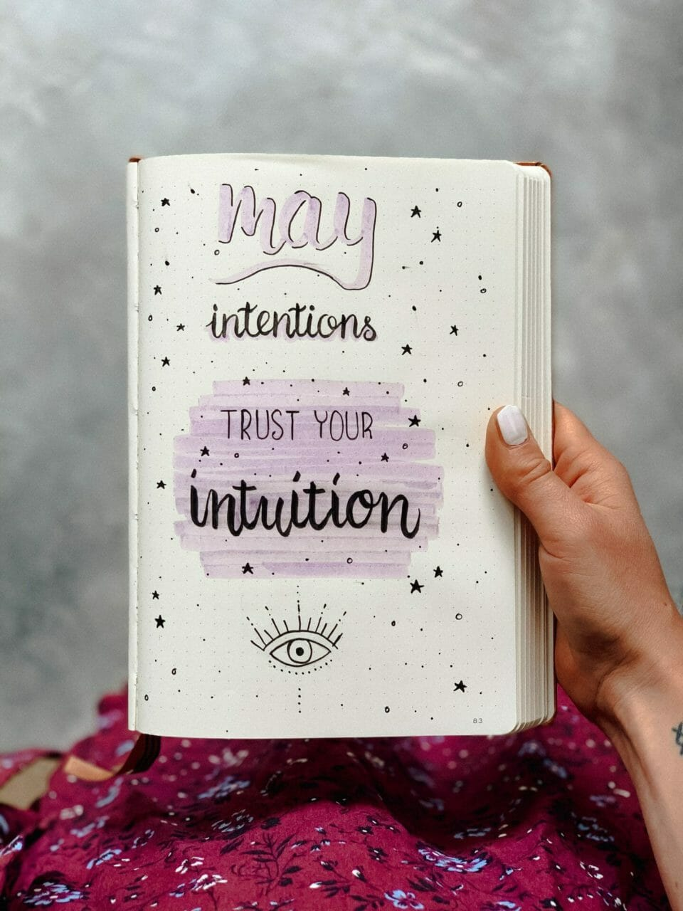 Mai Intention: trust your intuition.