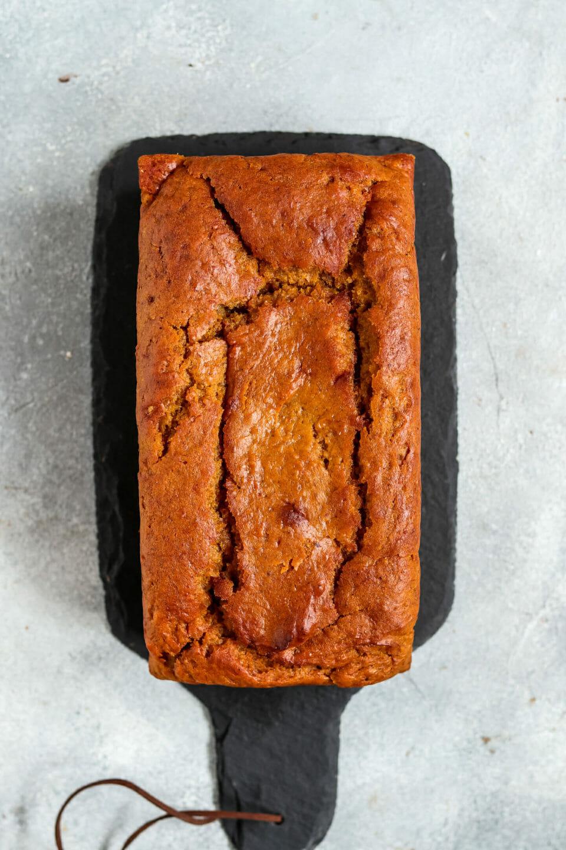 Veganer Kürbis Kuchen.
